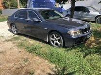 BMW e65 745i n62 2001год