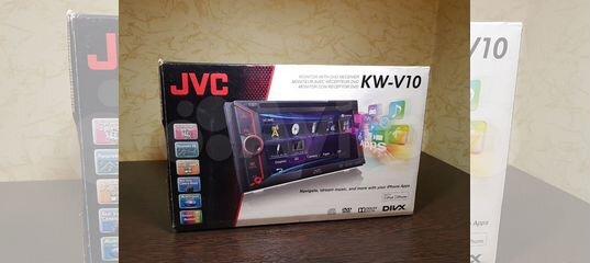 Автомагнитола 2 DIN JVC KW-V10