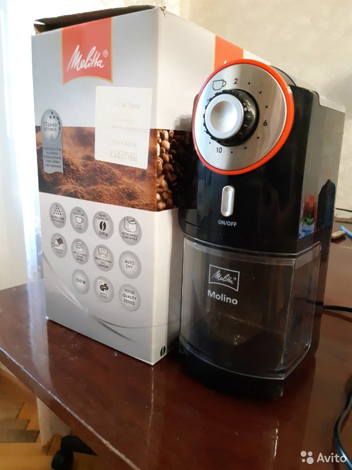 Жерновая кофемолка melitta Molino  89110164731 купить 1