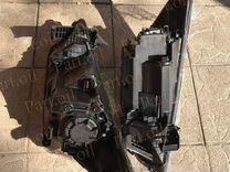 Фара черная Hyundai Solaris 2010-2014