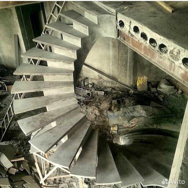 Заливка монолитных лестниц  89288668660 купить 2