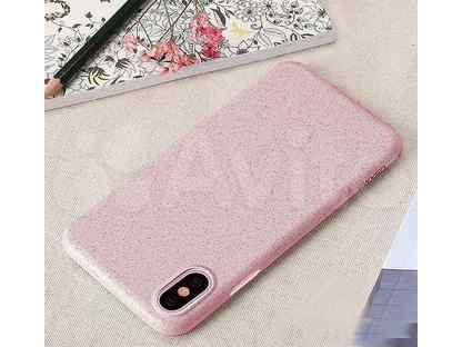 Чехол-накладка для iPhone X\XS usams Mando розовый