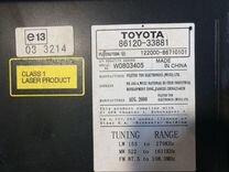 Toyota Camry 40 Магнитола