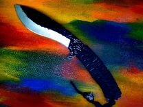Нож со смещеннным центром тяжести — Охота и рыбалка в Томске
