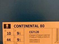 Кроссовки оригинал adidas, 42,5 continental 80