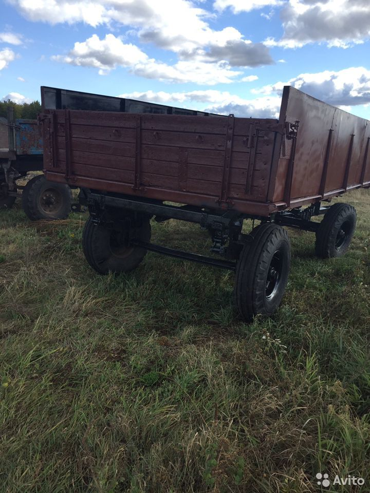 Тракторный прицеп 2 птс 4  89066584813 купить 3