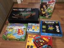 Игрушки, настольные игры, детский бильярд пакетом