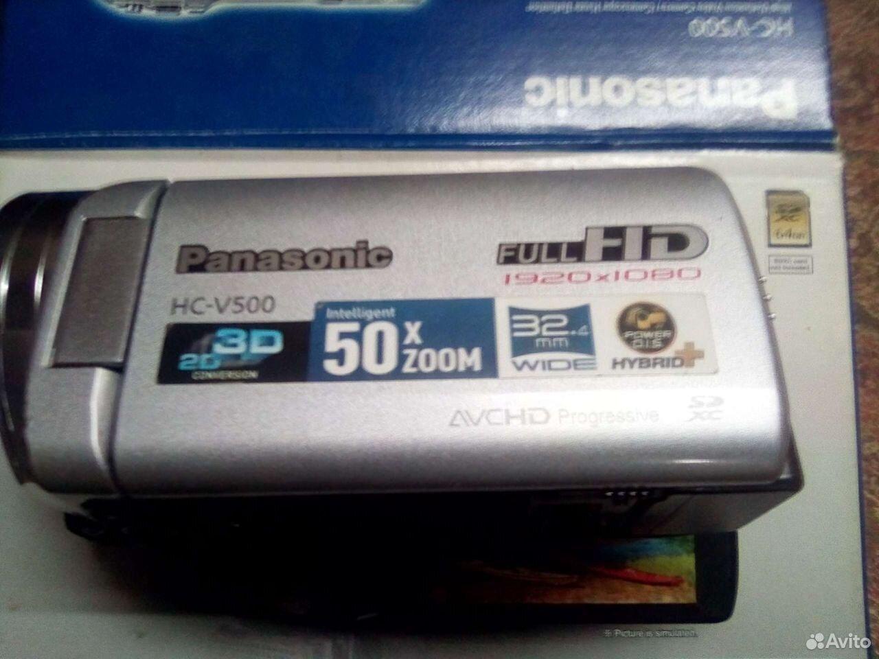 Видеокамера Panasonic HC-V500 Full HD  89373707500 купить 1