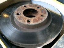 Тормозные диски передние б/у Nissan Qashqai j10 (н