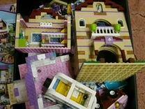 Лего (8 коробок) конструкторов