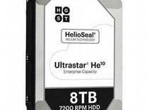Hgst HE10 HDD 3.5 SAS 8000Gb HUH721008AL5204