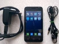 Телефон alcatel модель 4013D чёрный