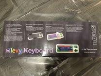 Клавиатура Clevy с большими кнопками и накладкой