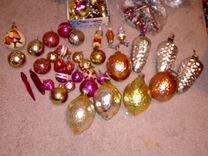 Новогодние Елочные игрушки СССР стекло — Хобби и отдых в Геленджике