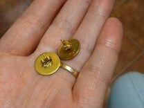 Золотые серьги bvlgari