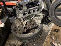 Блок и головка двигателя Volkswagen polo 5 2012г