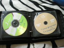 Папка дисков с детскими мультфильмами