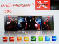 Новая магнитола pioneer 506 экран bluetooth