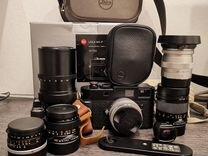 Leica M9-P с набором оптики
