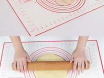 Силиконовый коврик для выпечки Pizza 30х40см