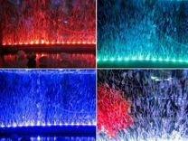 Подсветка светодиодная подводная с распылителем