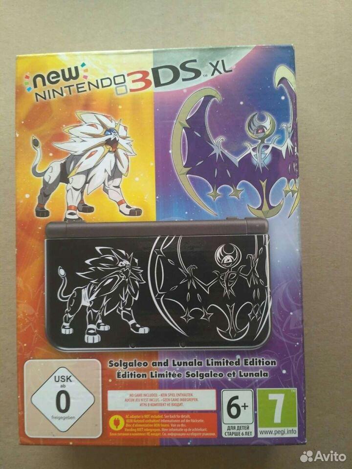 New Nintendo 3DS XL Solgaleo and Lunala Limited ed  89242376647 купить 1