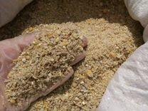 Ячмень, горох, кукуруза, жмых