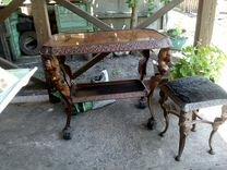 Комплект столик и стул