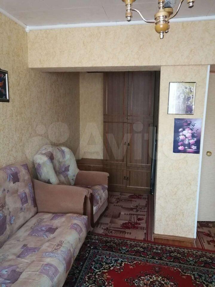 1-room apartment, 36 m2, 4/5 floor.