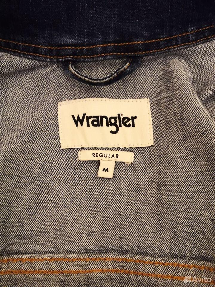 Куртка джинсовая Wrangler  89323238776 купить 6