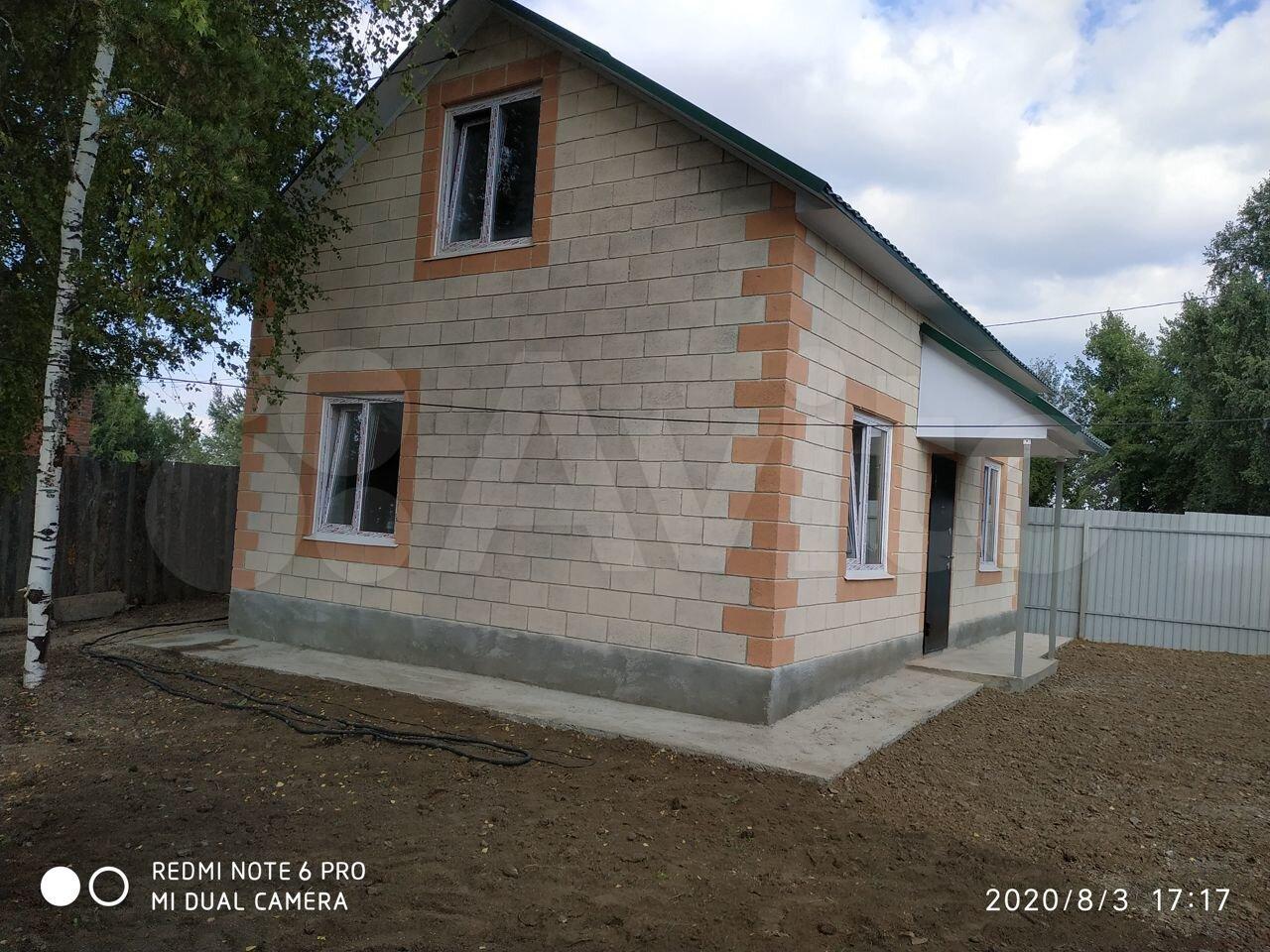 Дом 96.8 м² на участке 6 сот.  89627826259 купить 10
