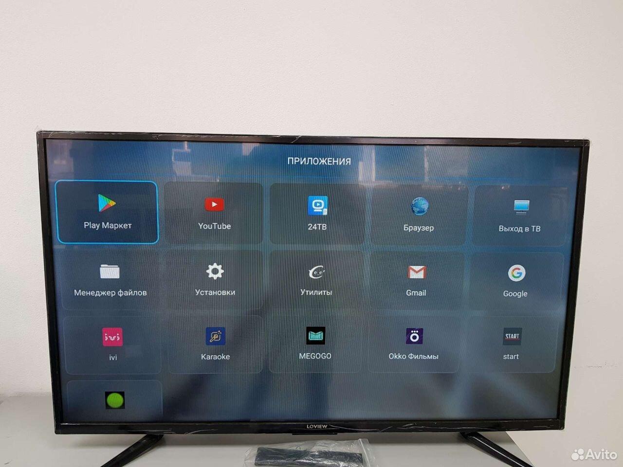 Д7) Телевизор Loview L39F401T2S  89642602386 купить 2