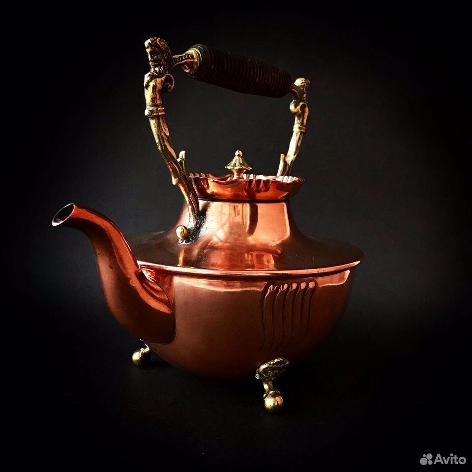 Чайник антикварный, 19 в, Германия  89064688820 купить 4
