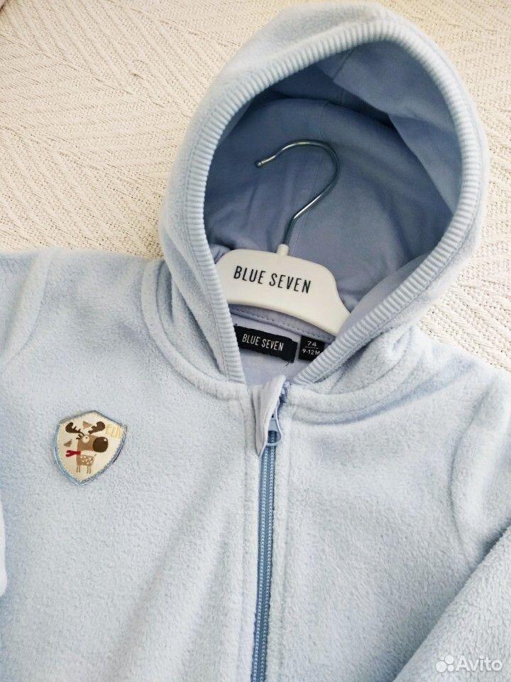 Комбинезон - поддева Blue Seven и пинетки  89612441143 купить 3