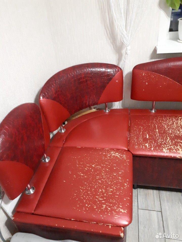 Кухонный угловой диван со спальным местом  89192468883 купить 2