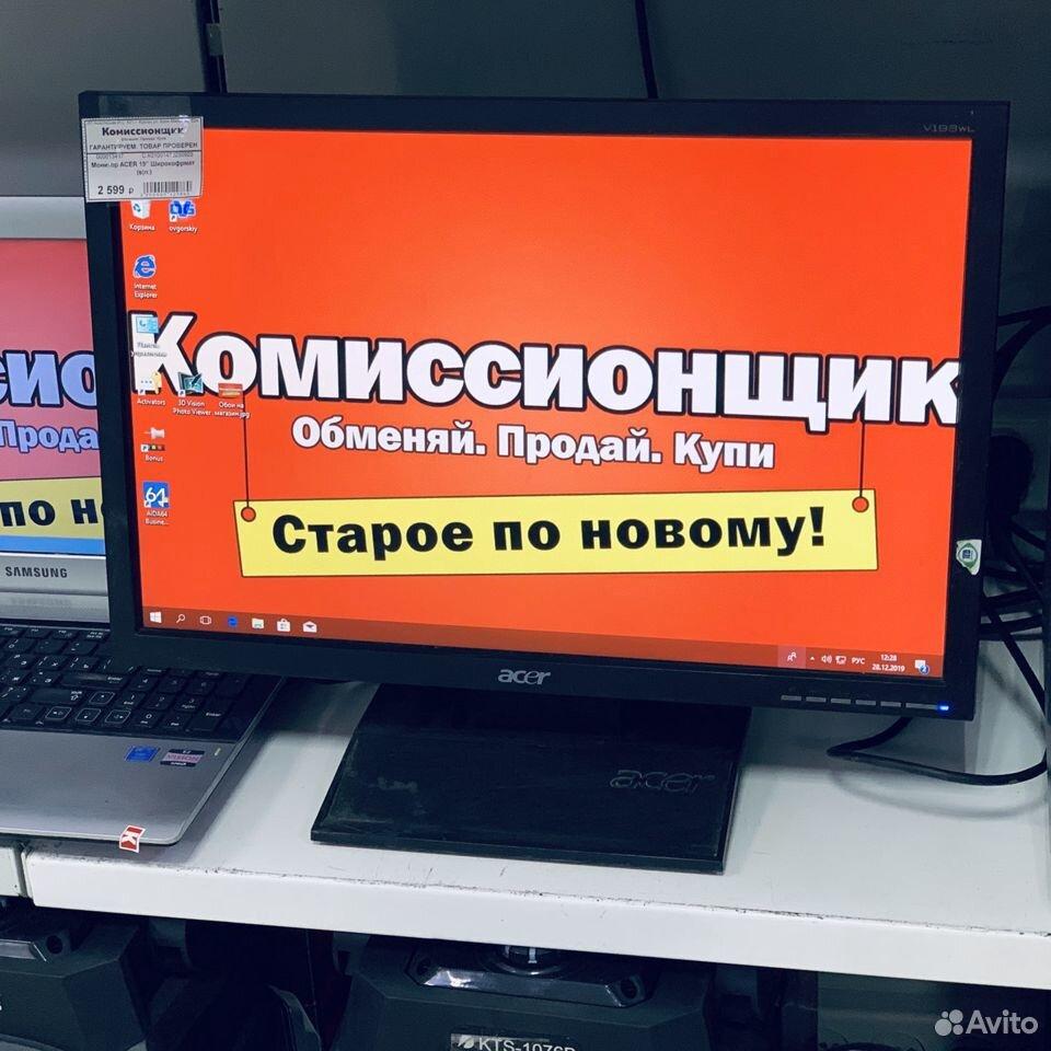 """Монитор Acer 19"""" широкоформатный. Кгн08  89225782014 купить 3"""