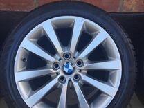 Комплект оригинальных дисков BMW на зимней резине