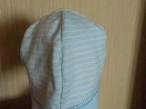 Легкая шапочка на 6-9мес