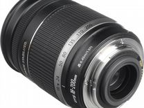 Canon EF-S 18 - 200/3,5 - 5-6 is