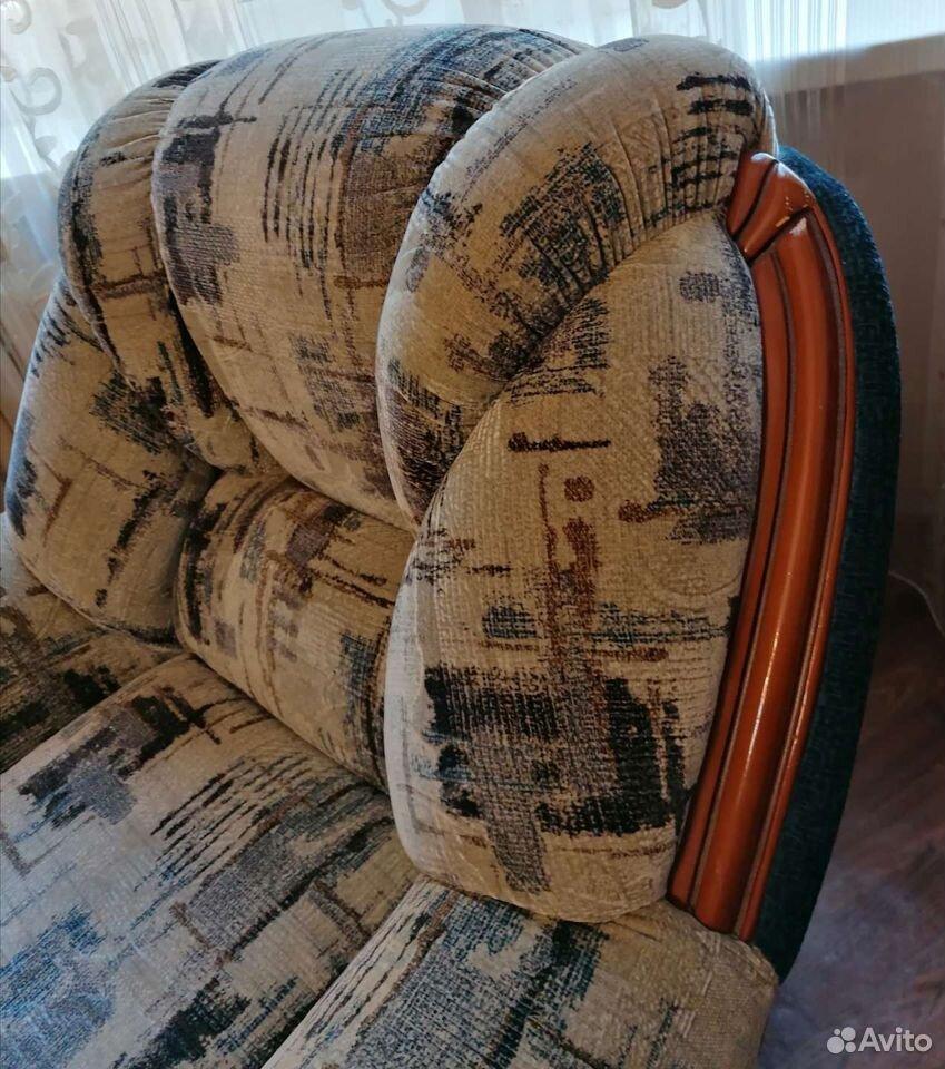 Диван и 2 кресла. отличное состояние  89023805566 купить 8