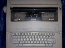 Электронная печатная машинка SAMSUNG SQ-1030