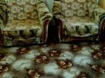 Мягкая мебель, диван и два кресла раскладываются