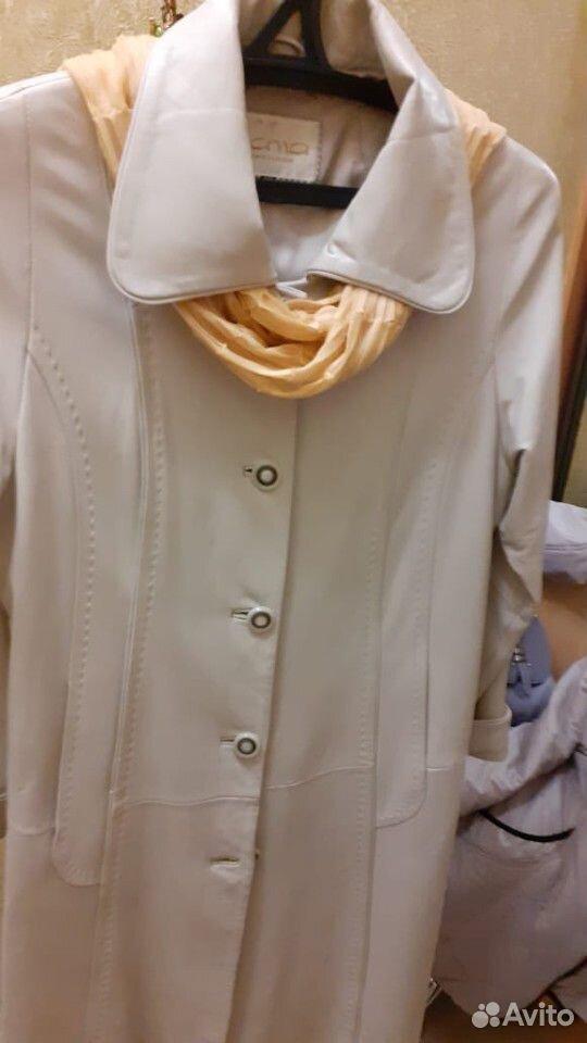 Плащ женский кожаный  89102008778 купить 2