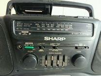Магнитофон sharp wq-750